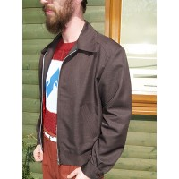 Dark Chocolate Brown Ricky Jacket