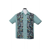 Steady - Mint Tiki in Paradise Shirt
