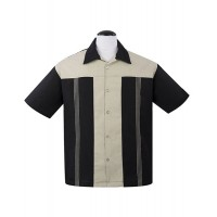 Steady - Black ' The Oswald ' Shirt