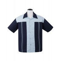 Navy Blue ' The Oswald ' Shirt