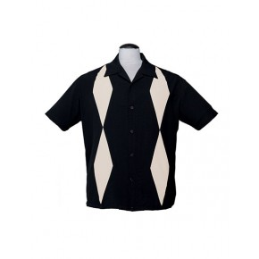 Black Diamond Duo Bowling Shirt