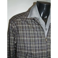 Grey/Mauve Check Ricky Jacket