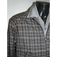 Grey/Mauve Check Ricky Jacket