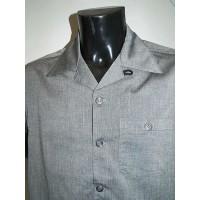 Silver Grey Fleck Short Sleeve Shirt