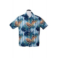 Steady - Blue Oasis Hawaiian Shirt