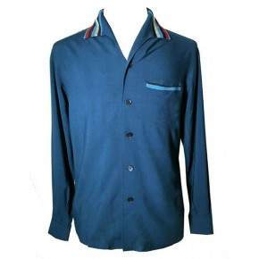 Swankys - Elvis Blue Jade L/S Shirt