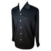Swankys - Elvis Black/Lurex L/S Shirt