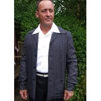 Charcoal Fleck Hollywood Jacket