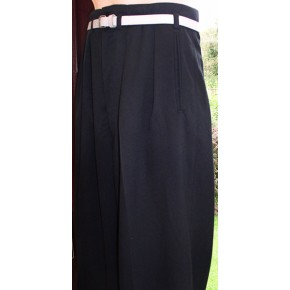 Black 40Ts High Waisted Trousers