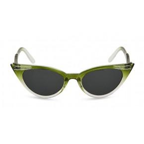 Betty - Olive Green Fade Sunglasses