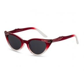 Betty - Red Fade Sunglasses