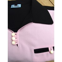 Black/Pink Gaucho Shirt
