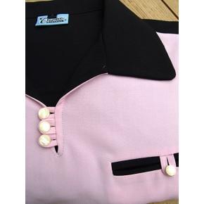 Black/Pink Gaucho Shirt