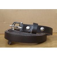 Dark Brown Thin Belt