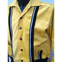 Swankys - Mustard Yellow King Sports Cord Jacket