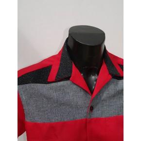 Swankys - Red Atomic Haley Shirt