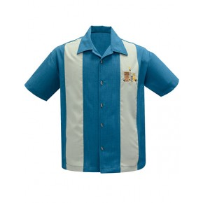 Steady - The Mickey Turquoise Shirt