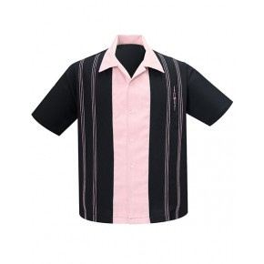 Steady - The Harper Black/Pink Shirt