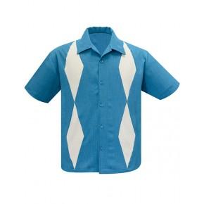 Steady - Turquoise/Stone Diamond Duo Shirt