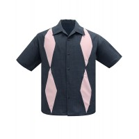 Steady - Charcoal/Pink Diamond Duo Shirt