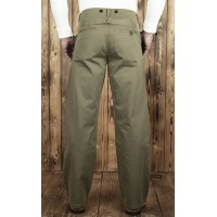Pike Bros - Olive Chinos