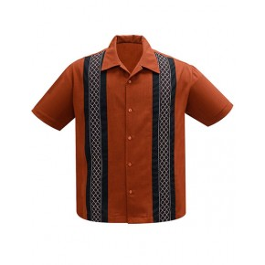 Steady - 'The Oscar' Rust Shirt