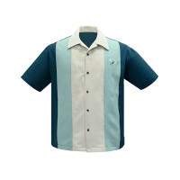 Steady - Atomic Madmen Teal/Mint Shirt