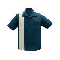 Steady - Teal Classic V8 Shirt