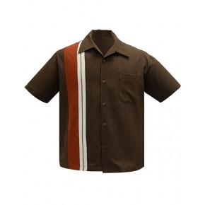 Steady - 'The Charles' Brown Shirt