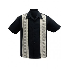 Steady - 'The Oscar' Black Shirt