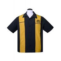 Steady - Black Sun Records Crown Panel shirt