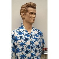 Ozone Clothing - Blue Hawaii Shirt