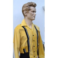 Swankys - Mustard Yellow King Sports Cord Jacket