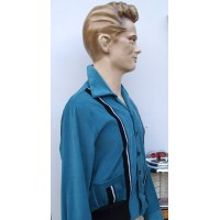 Swankys - Teal King Sports Cord Jacket