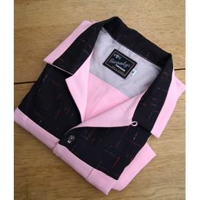 Swankys - Haley Pink Atomic Fleck Shirt