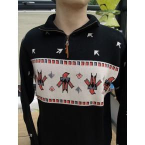 Black - Thunderbird Zip Pullover