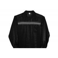 Black Casino Embroidered Shirt