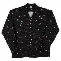 Black Surfin Atomic Long Sleeved Shirt