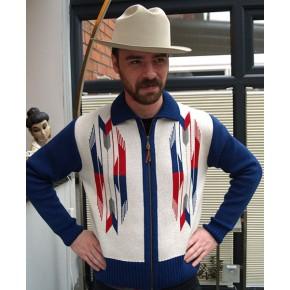 ' The Santa Fe ' Natural Knitted Zipper