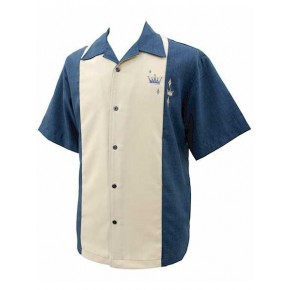 Classic Steady Blue Crown Panel Shirt