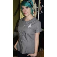 Sailor Jerry - Grey Girls Shirt