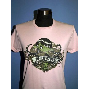 Misery - Pale Pink Octopus Tee